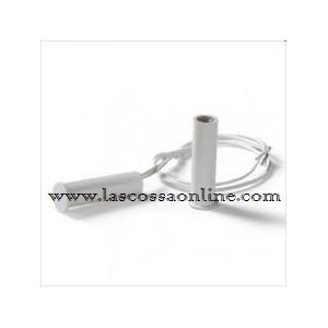 Contatto magnetico plastico a sigaretta bianco
