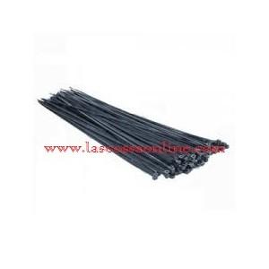 Fascetta nylon nera 140x3,5mm pz.100