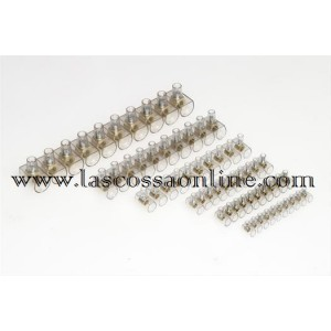 Morsetto unipolare sez 4 mm stecca da 10 pz