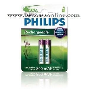 Pila ministilo AAA HR03 micro 1,2V 800mAh blister 2pz.