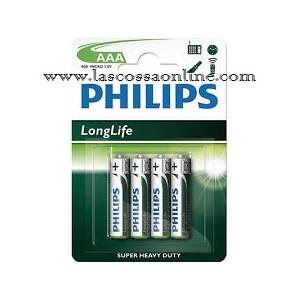 Pila ministilo Longlife AAA/R03 1,5V blister 4pz