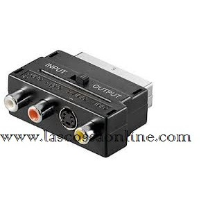 Adattatore Scart Audio Video in/out
