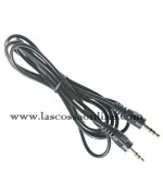 Cavo Audio Stereo Jack 3.5 mm M/M 1,8 mt