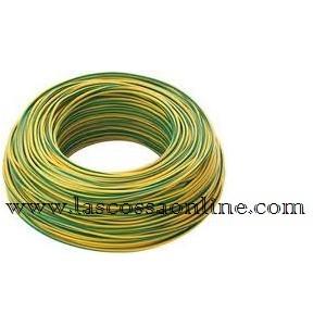 Cavo unipolare 1,5mm gialloverde FS17