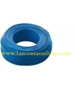 Cavo unipolare 2,5mm blu FS17