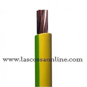 Cavo unipolare 16mm gialloverde FS17