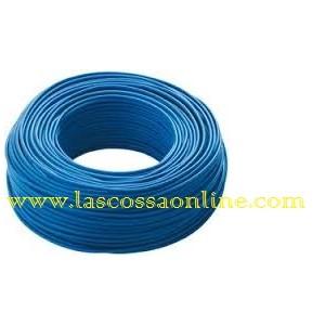 Cavo unipolare 6mm blu FS17