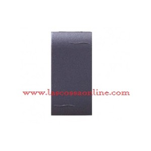 Copriforo semplice grigio