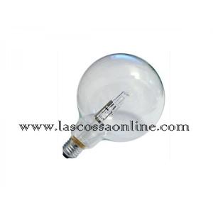 Lampada alogena globo trasparente 70W E27 2800K