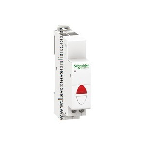 Lampada segnaletica rossa 230VCA 1 modulo