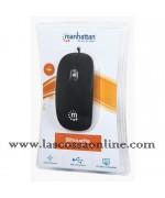 Mini Mouse Ottico USB Silhouette Cavo 1,2m Nero