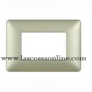 Placca 3P gold