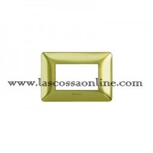 Placca 3P oro satinato