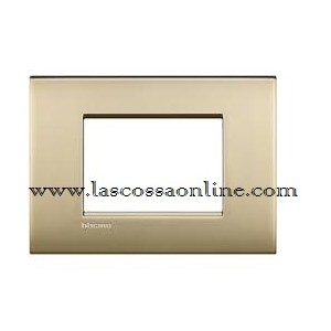 Placca Air 3P oro satinato