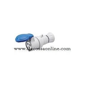 Presa mobile IP44 2P+T 16A 230V