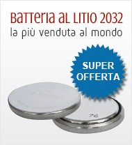 Batterie Litio 2032